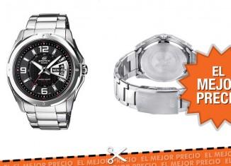 El mejor precio para el reloj CASIO EF-129D-1AVEF Edificecon un 47% descuento