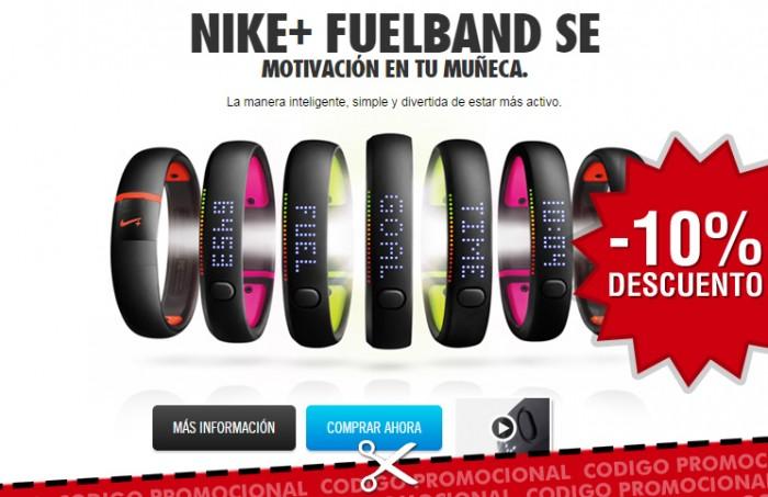 Codigo promocional de Nike con un 10% de ahorro sobre artículos rebajados