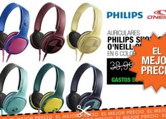 El mejor precio para los auriculares Philips O'Neill Cruz