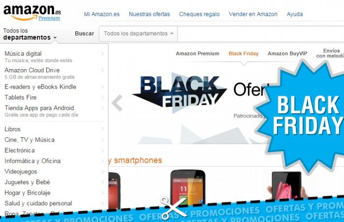 Black Friday en Amazon España 2014