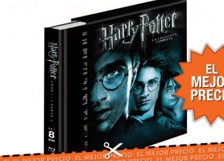 Saga Harry Potter por 34,42€ y envío gratis