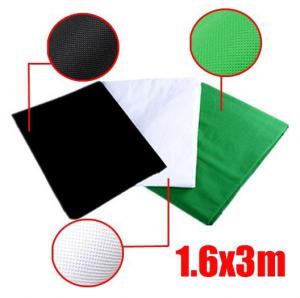 Telas de 3 colores del estudio compacto rebajado
