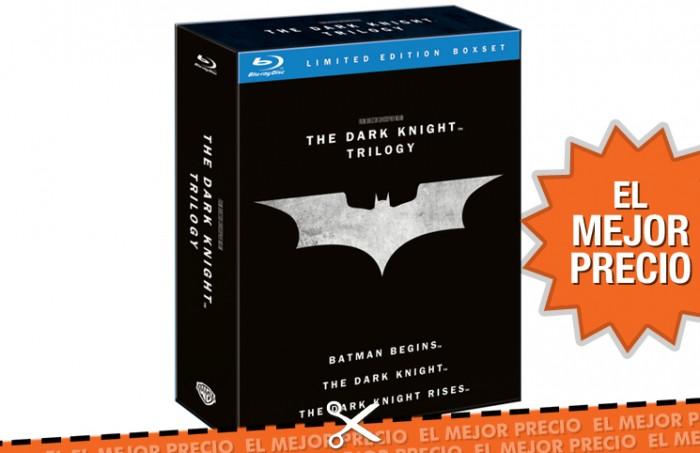 Trilogía de El Caballero Oscuro en Blu-Ray al mejor precio