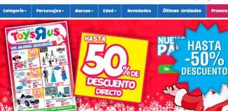 Ofertas de Navidad en Toys R Us para ahorrar en juguetes y videoconsolas