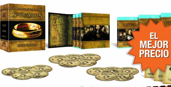 Chollazo trilogía de El Señor de los Anillos versión extendida en Blu-ray