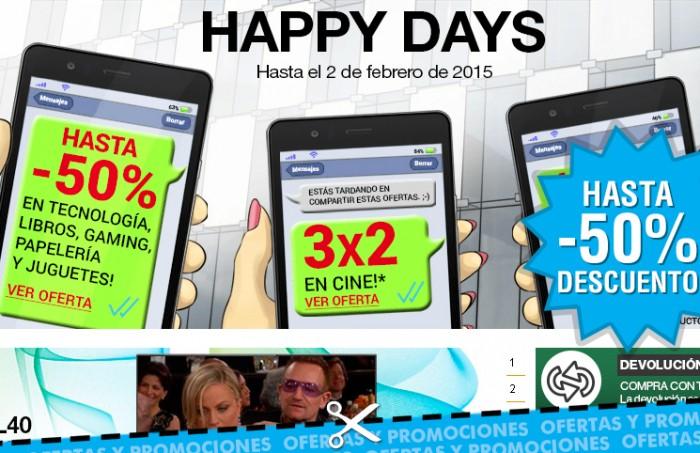 Happy Days de Fnac con rebajas y chollazos