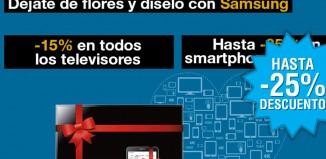 Chollos San Valentín Fnac Samsung