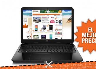 Mejor precio portatil HP 255