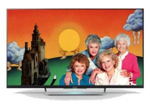 "Sony KDL42W828B LED 42"" Full HD 3D Smart TV"
