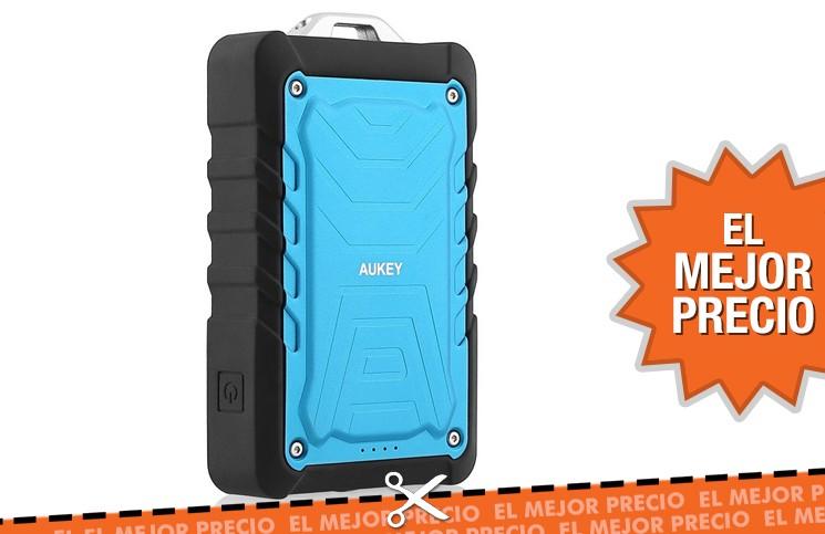 Oferta batería externa Aukey resistente