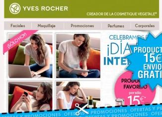 Cosméticos de oferta en Yves Rocher