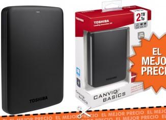 Oferta disco duro Toshiba Canvio 2TB