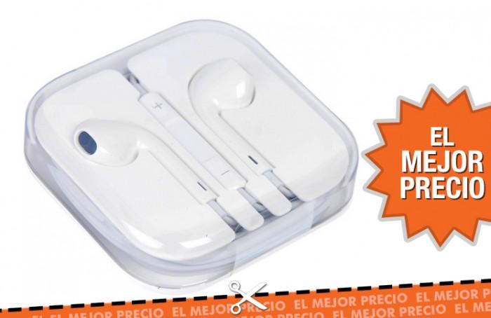 Oferta auriculares Apple Earpods