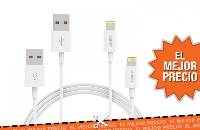 Oferta cables de carga para Apple