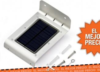Oferta lámpara solar OxyLED