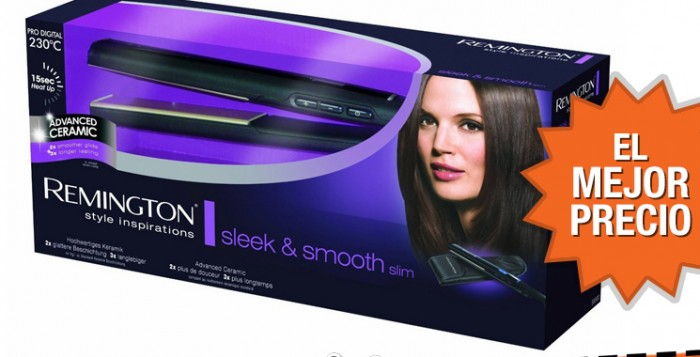 Oferta plancha para el pelo Remington S5500 Avanced Ceramic