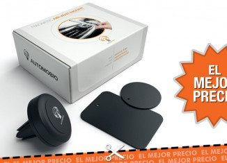 Oferta soporte magnético para smartphones