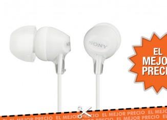 Oferta auriculares Sony MDREX15LPW