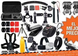 Oferta pack de accesorios para GoPro