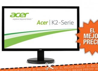 Oferta monitor LED Acer al mejor precio