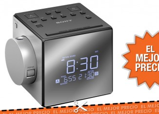 Oferta radio despertador proyector