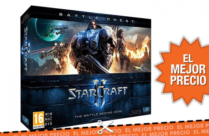 Oferta StarCraft II Battle Chest barato