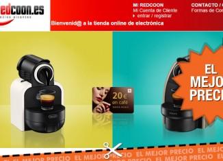 Oferta cafeteras automáticas por 49€ + cupón pra cápsulas