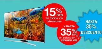 Hasta 35% descuento en TV de Fnac