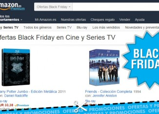 Black Friday en Amazon con pelis y series rebajadas