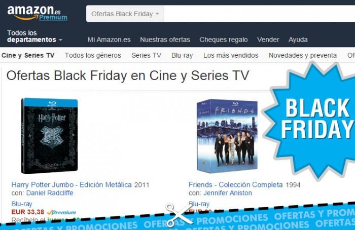 Black Friday en Amazon con pelis y series rebajadas