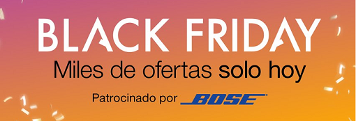 Black Friday de Amazon España