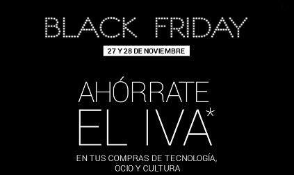 Ahorra el IVA durante el Black Friday