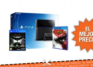 Oferta pack de PS4 con dos videojuegos