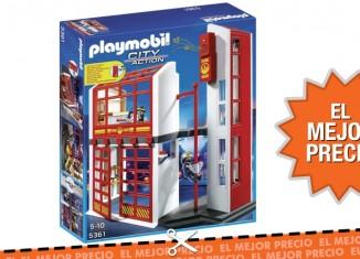Mejor precio para la estación de bomberos de Playmobil