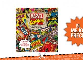 Oferta calendario oficial de Marvel Classic al mejor precio