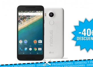 Rebaja de 40€ en el nuevo Google Nexus 5X