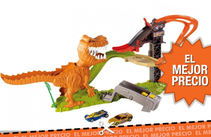Hot Wheels - Ataque T-Rex al mejor precio