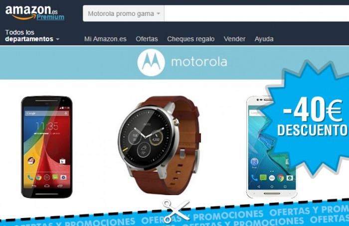 Promoción de Amazon con descuento de 40€ en smartphones y smartwatch