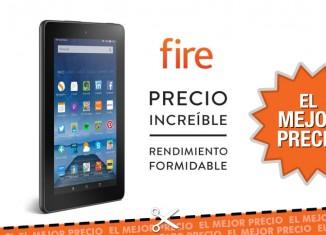 Oferta tablet Fire de Amazon al mejor precio