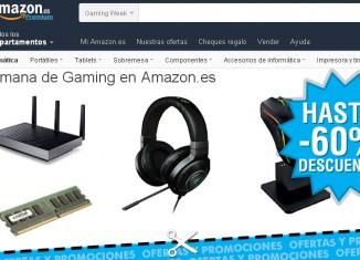 Semana Gaming de Amazon para Navidad