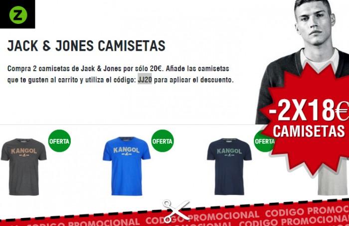 2 camisetas por 18€ en Zavvi