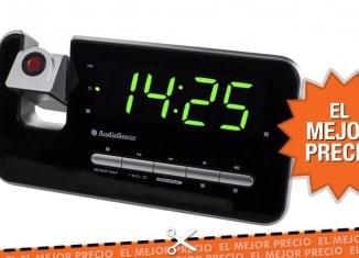 Oferta despertador proyector al mejor precio