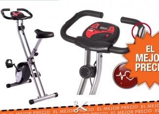 Ultrasport F-Bike - Bicicleta estática con sensores de pulso de mano al mejor precio