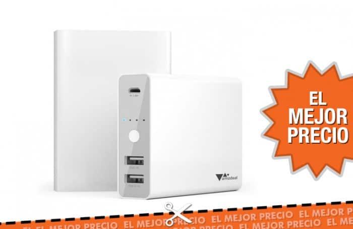 Oferta amzdeal Batería Externa portátil 12000mAh al mejor precio