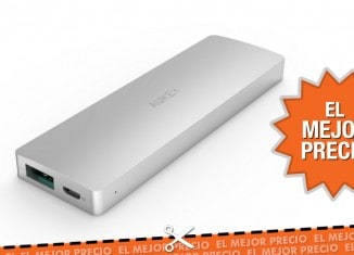 Oferta AUKEY Batería Externa 3300mAh al mejor precio