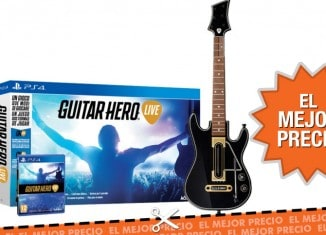 Oferta Guitar hero Live + guitarra al mejor precio