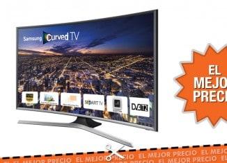 Oferta televisor Samsung LED curvo UE40J6300