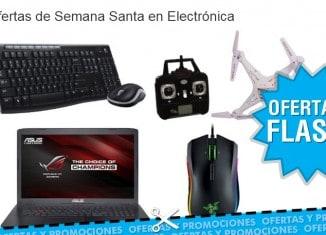 Ofertas de Semana Santa en Electrónica en Amazon