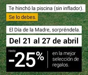 25% ahorro en selección
