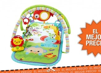 Oferta Gimnasio musical con animalitos de Fisher Price
